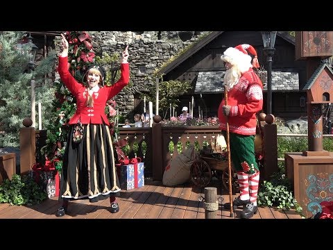Sigrid and Julenissen Norway Holiday Storytellers at Epcot Festival of the Holidays 2017, Disney