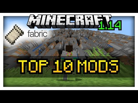 TOP 10 Mods for Minecraft 1.14 | Fabric Modloader