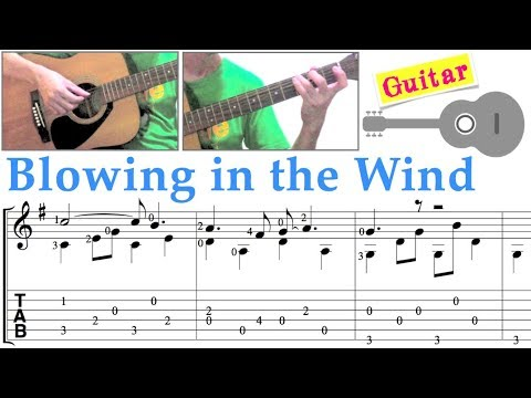 Blowing in the Wind /Peter, Paul & Mary /Bob Dylan (Guitar)
