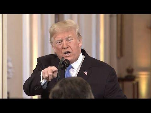 USA: Trump teilt aus - hier disst der Wut-Präsident ein ...