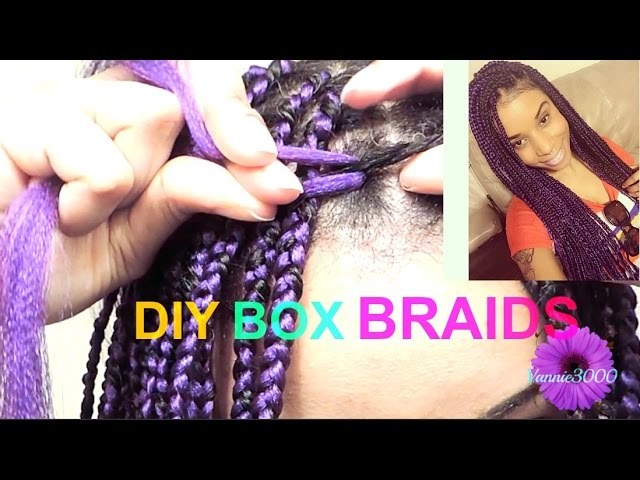 Diy Crochet Box Braids : Two Strand Twist Braid Tutorial - Braids