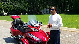 7. 2015 Can Am Spyder RT Limited walkaround
