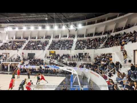 Architecte stades / Agence Architecture sport : Palais des Sports de Bordeaux