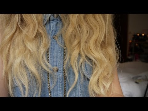 wavy hair - Second Channel - http://www.youtube.com/user/RhiannonAshleeExtra Chictopia - https://www.chictopia.com/RhiannonAshlee LOOKBOOK.nu - http://lookbook.nu/rhiann...
