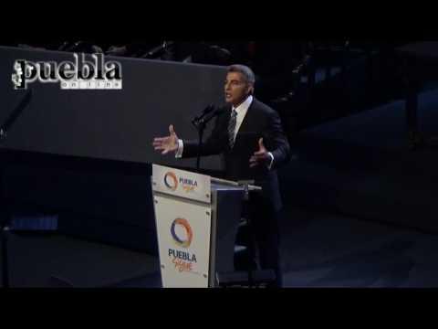 Tony Gali - Protesta como gobernador (pueblaonlinevideos)