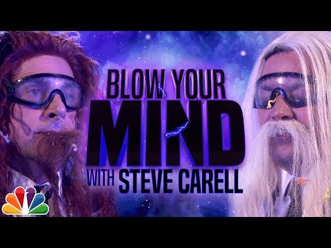 Steve Carell and Jimmy Fallon Get Their Minds Literally Blown by MindBlowing