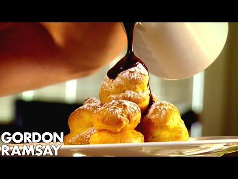 Perfect Chocolate Profiteroles | Gordon Ramsay