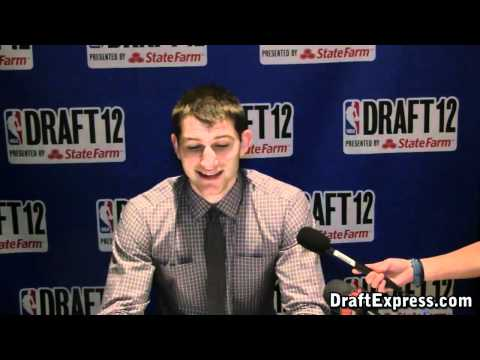 Tyler Zeller 2012 NBA Draft Media Day - DraftExpress