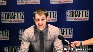 Tyler Zeller 2012 NBA Draft Media Day - DraftExpress