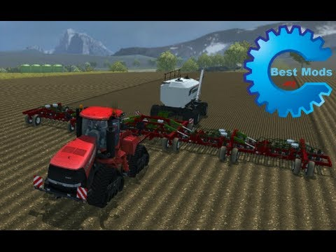 Bourgault Seeding fertilization system v1.0