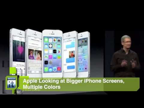 Technology News – Iphone 5S With Fingerprint Scanner