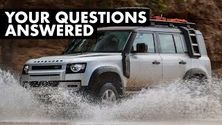 NEW Land Rover Defender EXTRA FILM: Your Questions Answered | Carfection + by Carfection