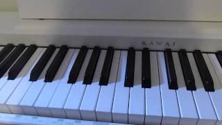 DR.DRE - STILL DRE    -Wie spiele ich es auf dem Klavier/Keyboard?-