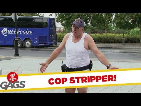 Most Sexy Stripping Cop Prank - Youtube