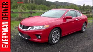 2013 Honda Accord Coupe V6 EXL DETAILED Review On Everyman Driver