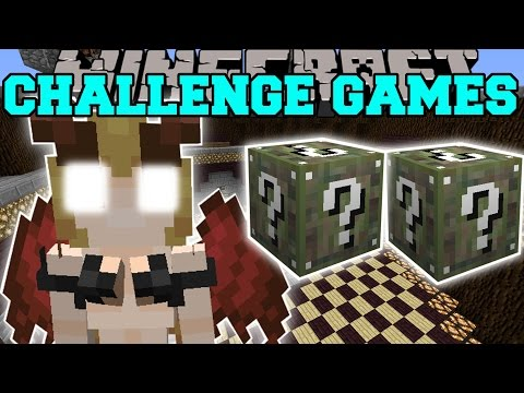 Minecraft: SUCCUBUS CHALLENGE GAMES - Lucky Block Mod - Modded Mini-Game