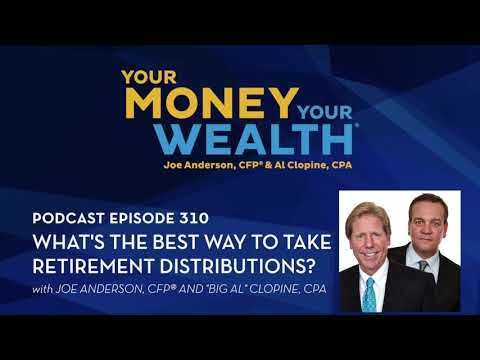 What's the Best Way to Take Retirement Distributions? - Your Money, Your Wealth® podcast #310