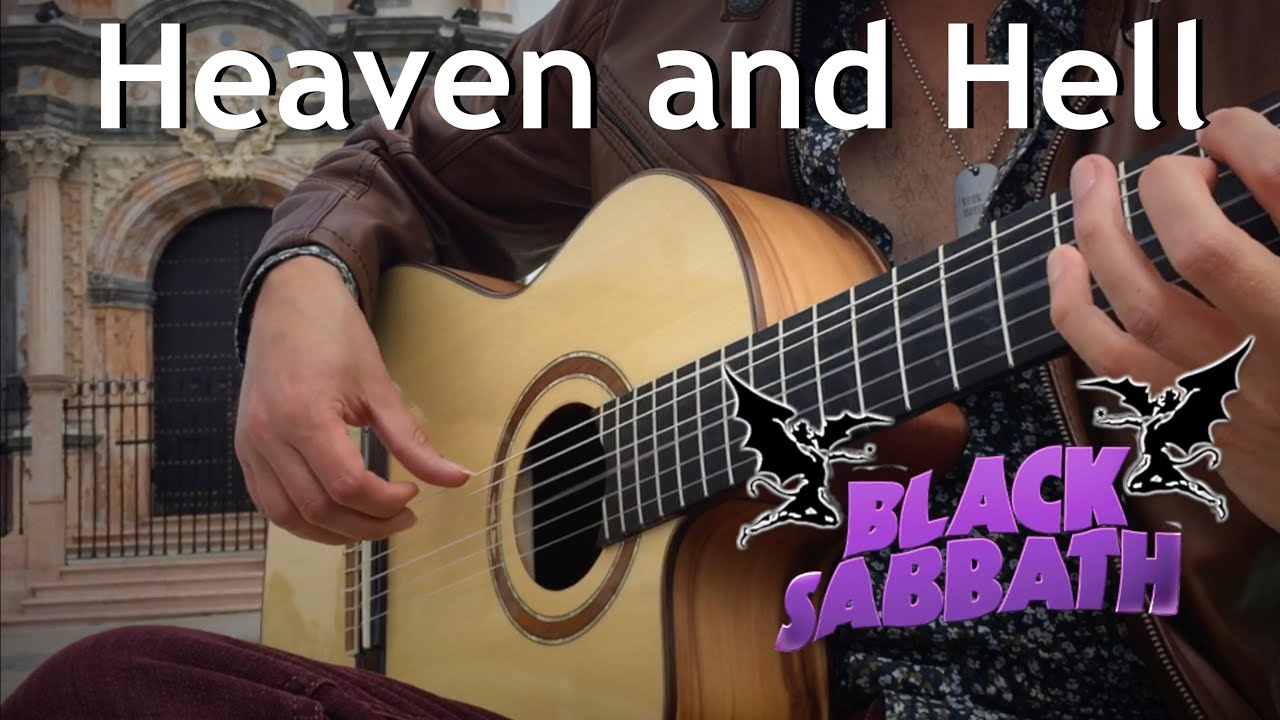 Heaven and Hell (Black Sabbath / DIO) Acoustic – Classical Fingerstyle Guitar by Thomas Zwijsen