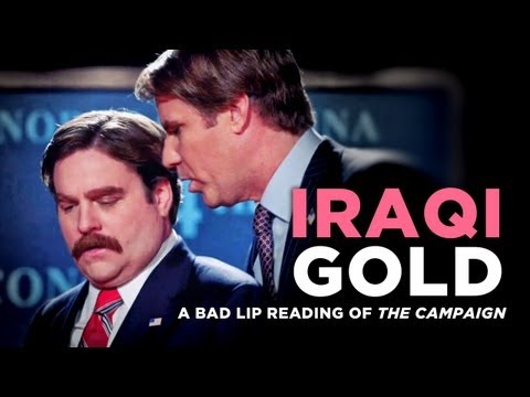 """Iraqi Gold"" — A Bad Lip Reading of ""The Campaign"""