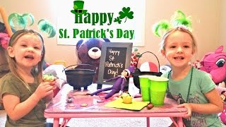 Purple Elf on the Shelf Returns! Happy St Patrick's Day Special
