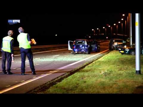 Dodelijk ongeval op A50 bij Ens