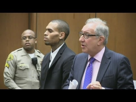 Chris Brown in court: Singer given 1,000 hours more community service in LA