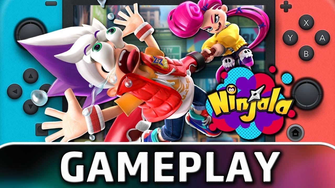 Ninjala | Nintendo Switch Gameplay