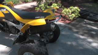 10. 2014 Can Am 450 DS walk around