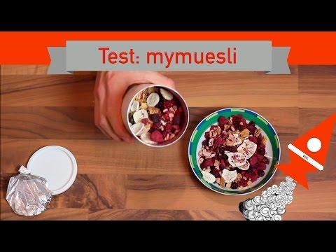 Start up Willi testet: MyMuesli