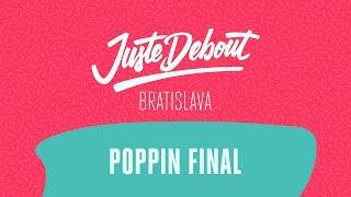Greenteck & Nelson vs Yellow & Jay Fonk – Juste Debout Bratislava 2018 Popping Final