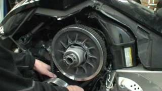 5. Tech Tip - Belt Adjustment on a Ski doo XP