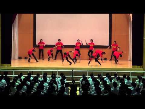 江戸川区立西葛西中学校ダンス部 学芸発表会2014BREAKIN' SHOW CASE