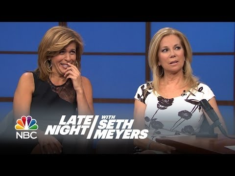 Intervention: Kathie Lee and Hoda - Late Night with Seth Meyers