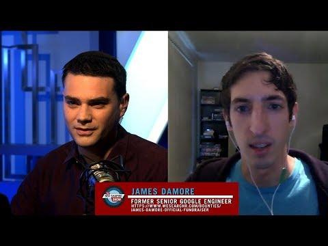 Ben Shapiro Interviews Google Memo Guy James Damore