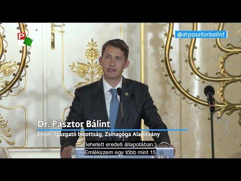 Dr. Pásztor Bálint beszéde a szabadkai zsinagóga orgonaavató hangversenyén-cover