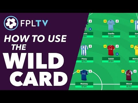 HOW TO USE THE WILDCARD   FANTASY PREMIER LEAGUE   FPL TUTORIAL