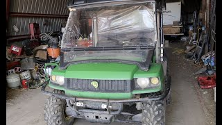 8. John Deere Gator HPX Diesel & Drive/ Farm Updates