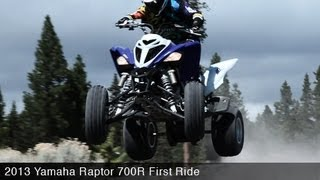 5. MotoUSA First Ride:  2013 Yamaha Raptor 700R
