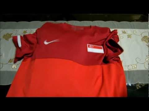 Singapore National Team Nike Jersey/Shirt/Kit (Home) 2011-2012