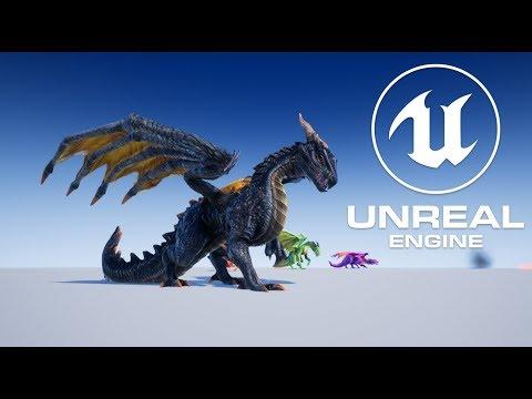 Unka the Dragon for Unreal