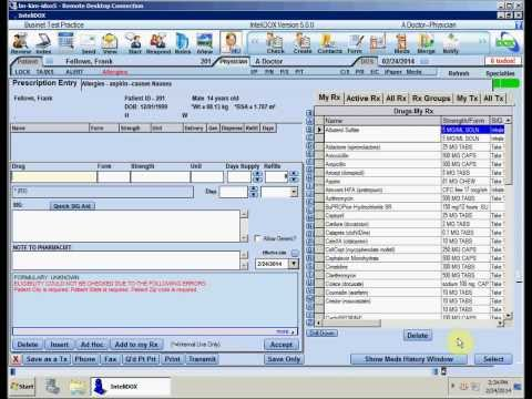 CPOE for Meds and Maintaining the Meds List