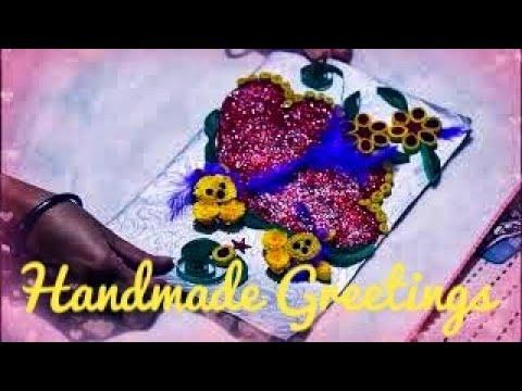 handmade greetings/birthday greetings