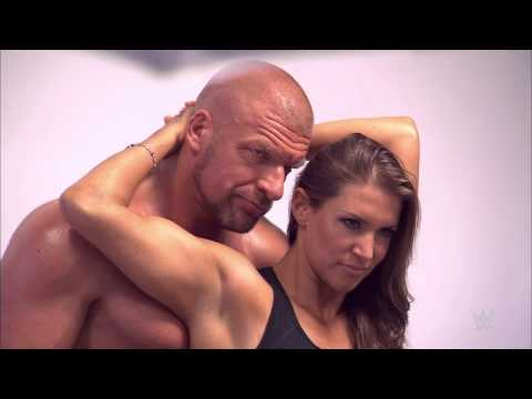 "Triple H and Stephanie McMahon are on the cover of ""Muscle & Fitness"" magazine, available now!"