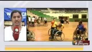 National Basketball competition for differently abled at Chennai