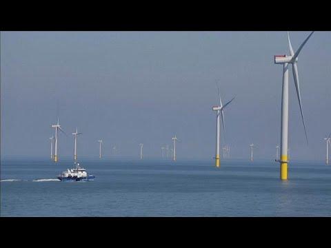 Größter Windpark der Welt vor der Küste Nordwestengland ...