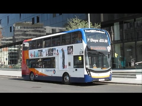Buses & Trains In Liverpool - May 2016