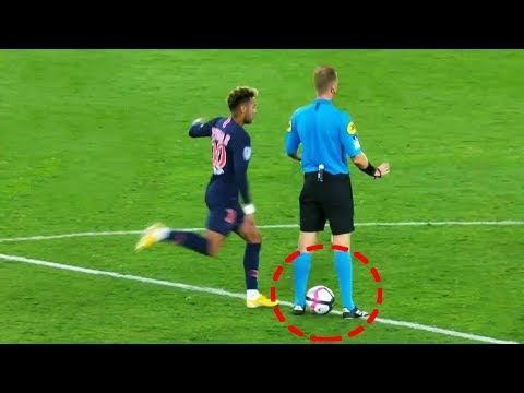 10 CLEVER Skills Performed By Neymar Jr
