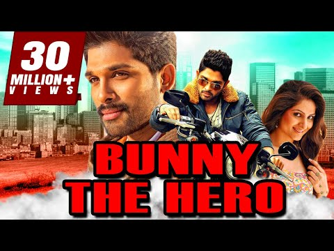 Bunny The Hero Hindi Dubbed Full Movie | Allu Arjun, Gowri Munjal, Prakash Raj