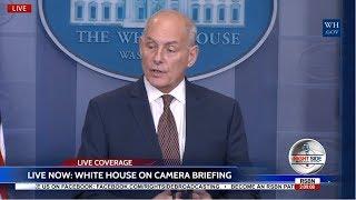 Video LIVE Chief of Staff Gen John Kelly White House Press Briefing 10/12/17 MP3, 3GP, MP4, WEBM, AVI, FLV Oktober 2017