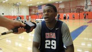 Michael Frazier Interview at USA Basketball U19 World Championship Tryouts